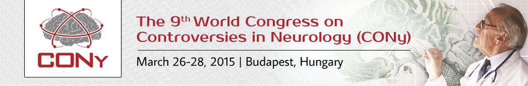 CME Accreditation - 17 Credit Points - The 9th World Congress on CONTROVERSIES IN NEUROLOGY (CONy)