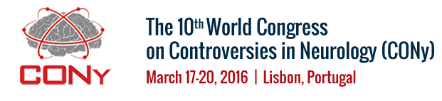 CME accreditation - 16 credit points - The 10th World Congress on CONTROVERSIES IN NEUROLOGY (CONy)